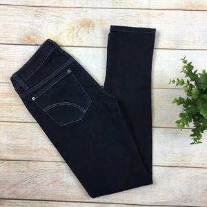Joe's Honey curvy skinny leg jeans dark wash 24